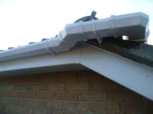 Fascia and soffit, guttering and downpipes